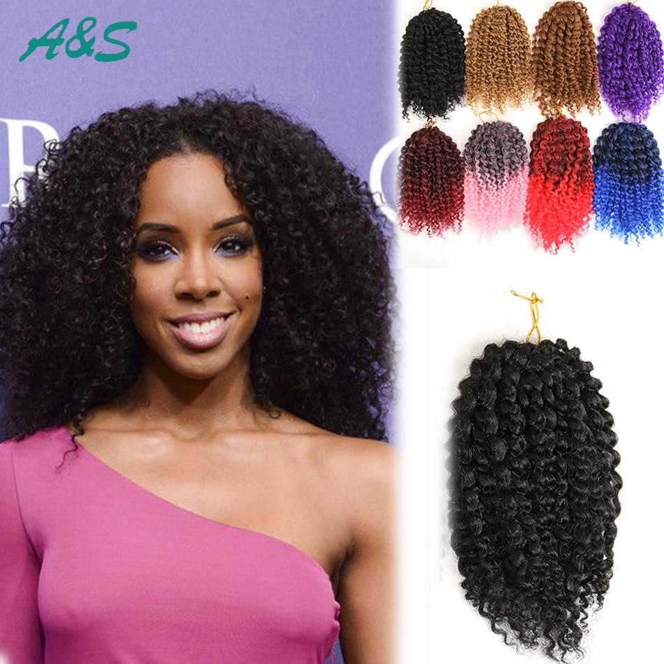 Curly Crochet Braid Hairstyles  Black crochet braids hair extension curly crochet hair