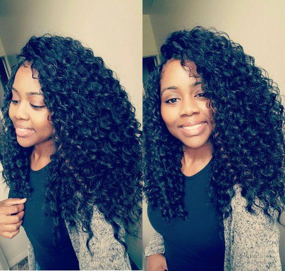 Curly Crochet Braid Hairstyles  35 Curly Crochet Hair Looks