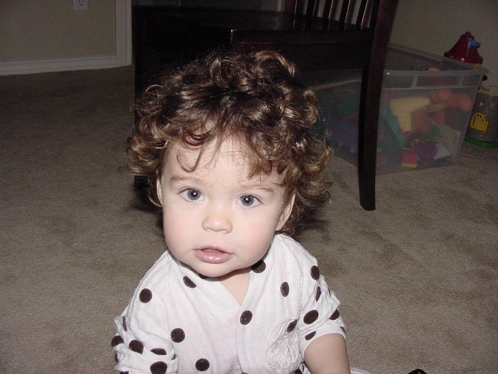 Curly Hair Baby Boys  2004