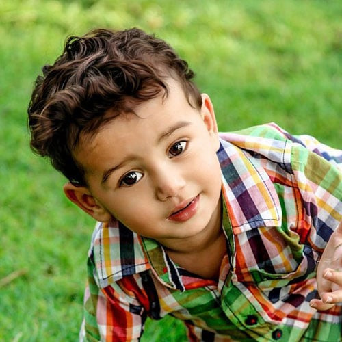 Curly Hair Baby Boys  35 Best Baby Boy Haircuts 2020 Guide