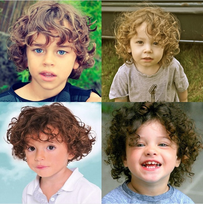 Curly Hair Baby Boys  25 Charming Haircuts for Baby Boys to Show f – Child Insider