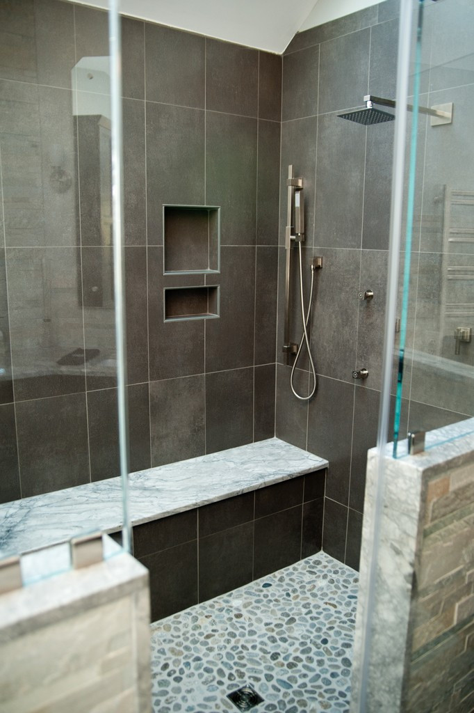 Custom Bathroom Shower  Customer Shower Options for a Bathroom Remodel