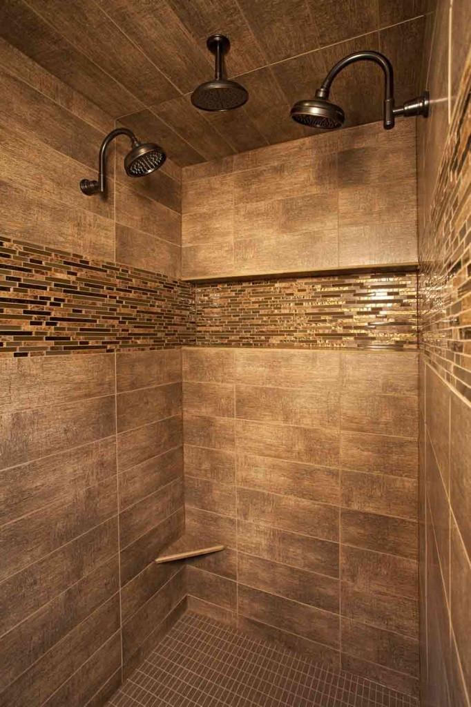 Custom Bathroom Shower  Unique Custom Home Ideas