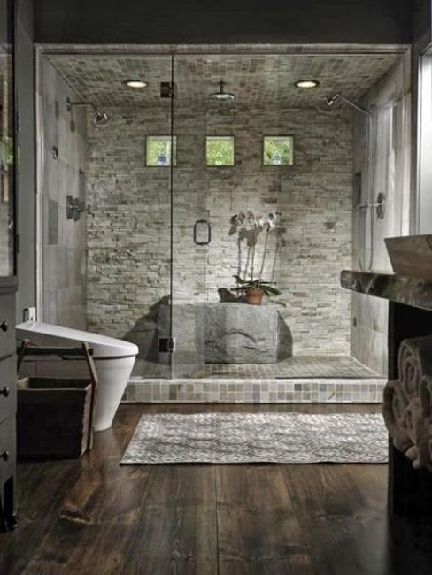 Custom Bathroom Shower  Custom Shower Designs Bringing Nature into Modern Homes
