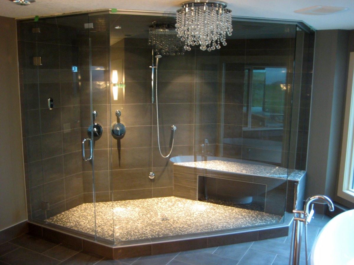 Custom Bathroom Shower  Custom Steam Shower or Modular FreeStanding Steam Shower