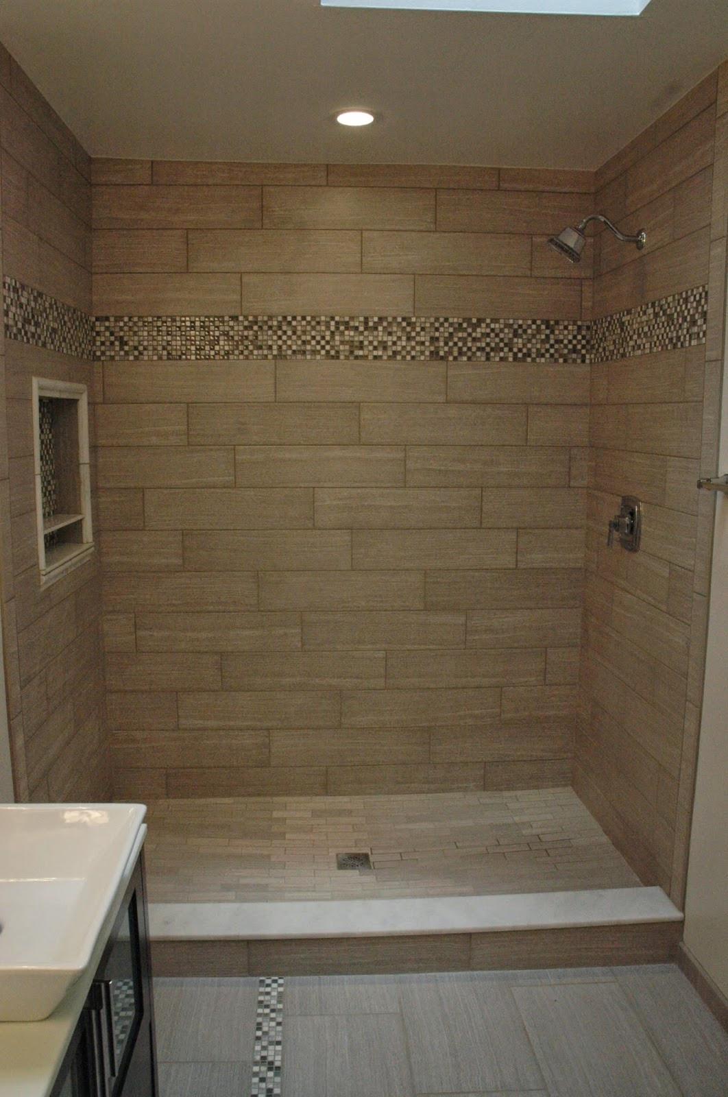 Custom Bathroom Shower  Custom Bathroom Remodeling April 2014