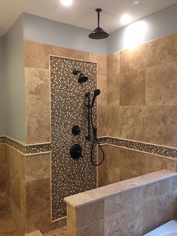 Custom Bathroom Shower  Custom Showers