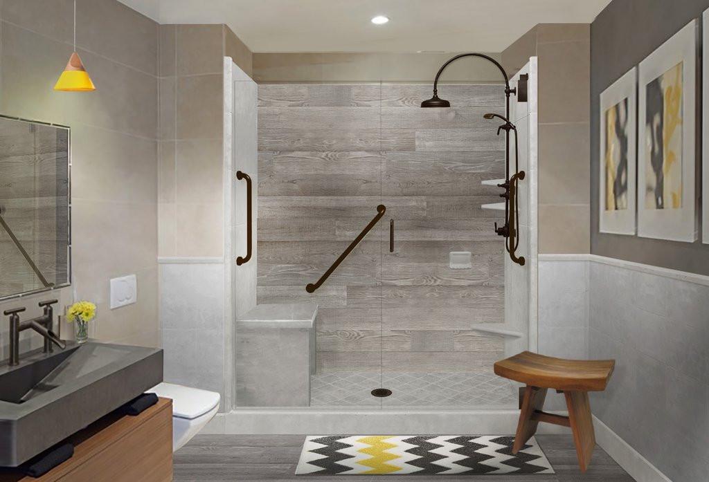 Custom Bathroom Shower  Trending From Standard Shower Kit to Custom – American