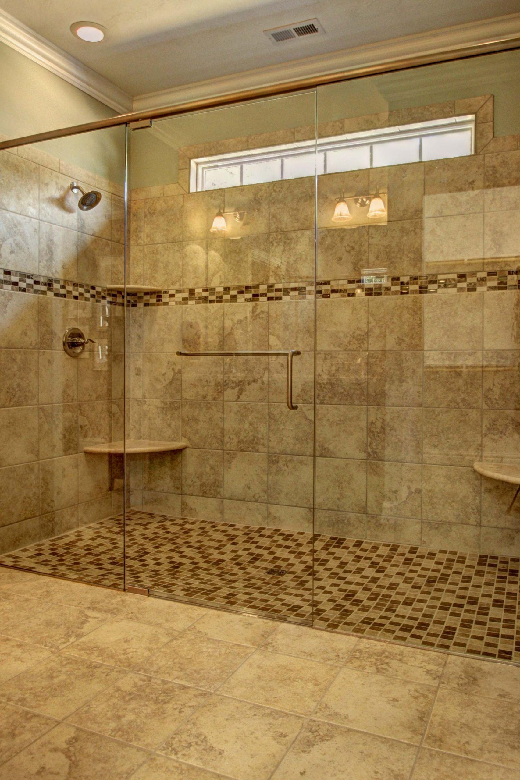 Custom Bathroom Shower  Barrier Free Showers