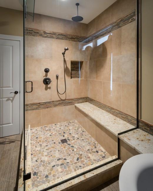 Custom Bathroom Shower  Goodbye Jetted Tub Hello Custom Shower HighCraft