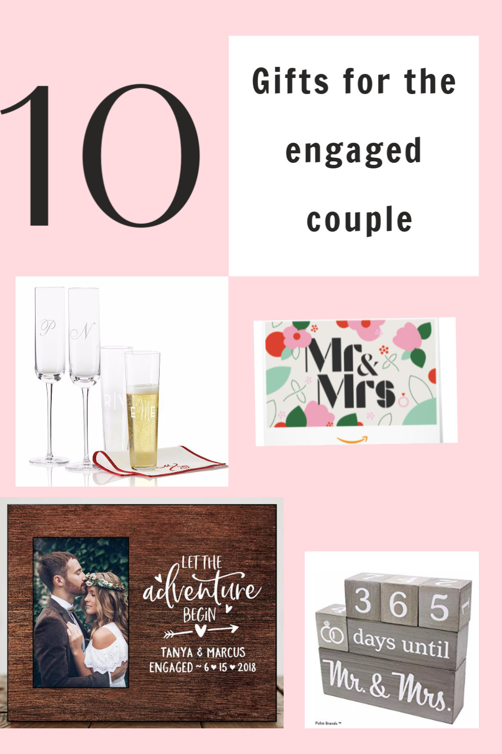 Cute Couple Gift Ideas  10 Cute Gift Ideas for the Engaged Couple
