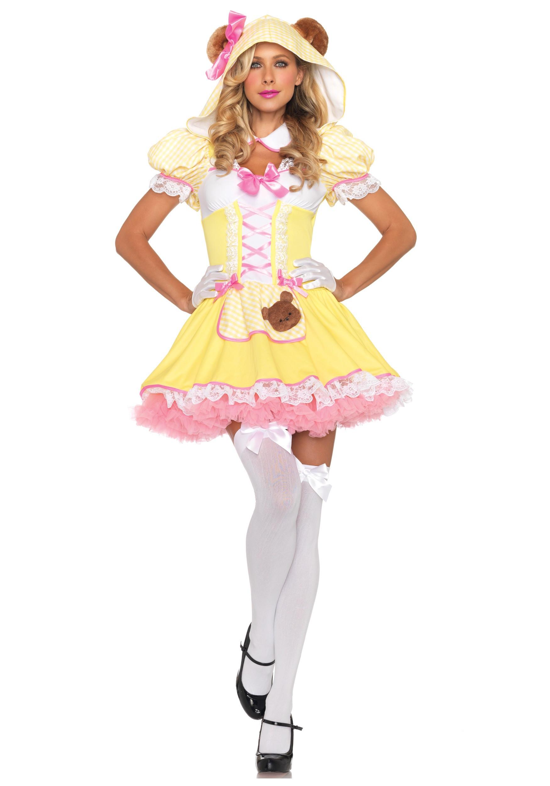 Cute DIY Costumes  Beary Cute Goldilocks Costume
