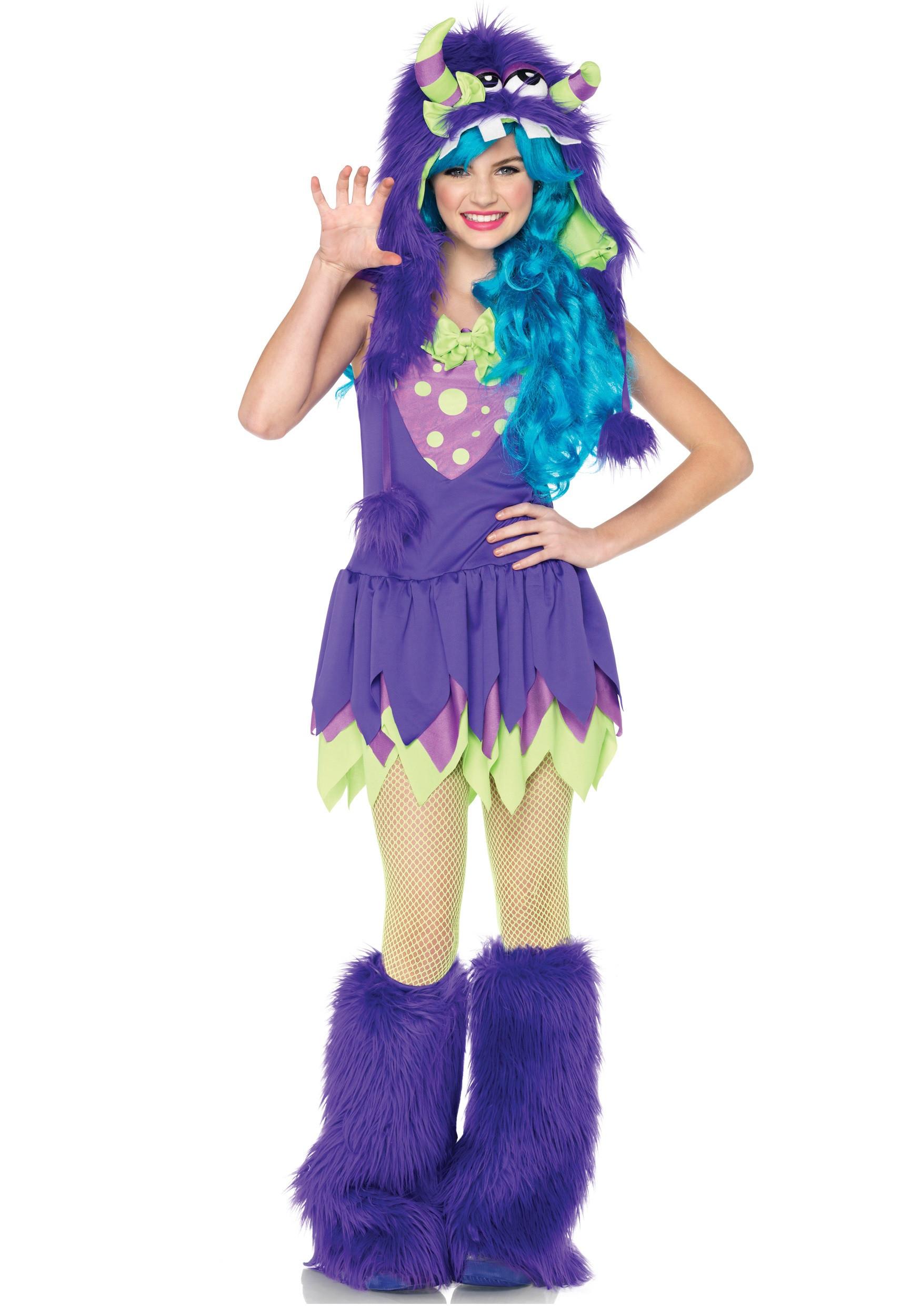 Cute DIY Costumes  Teen Miss Gerty Growler Monster Costume