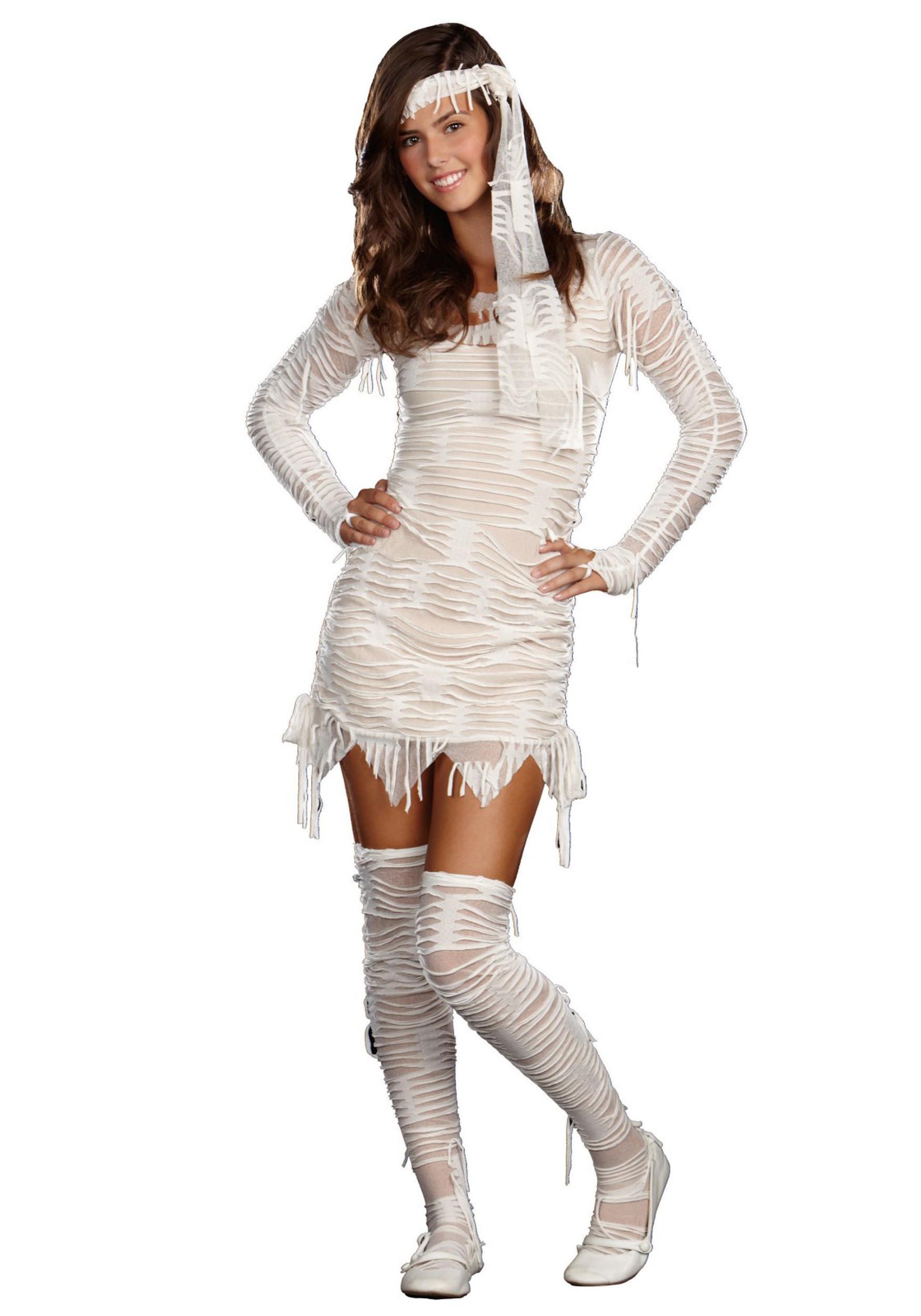 Cute DIY Costumes  Teen Mummy Cutie Costume