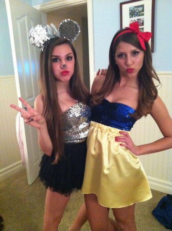 Cute DIY Costumes  20 Best Friend Halloween Costumes for Girls