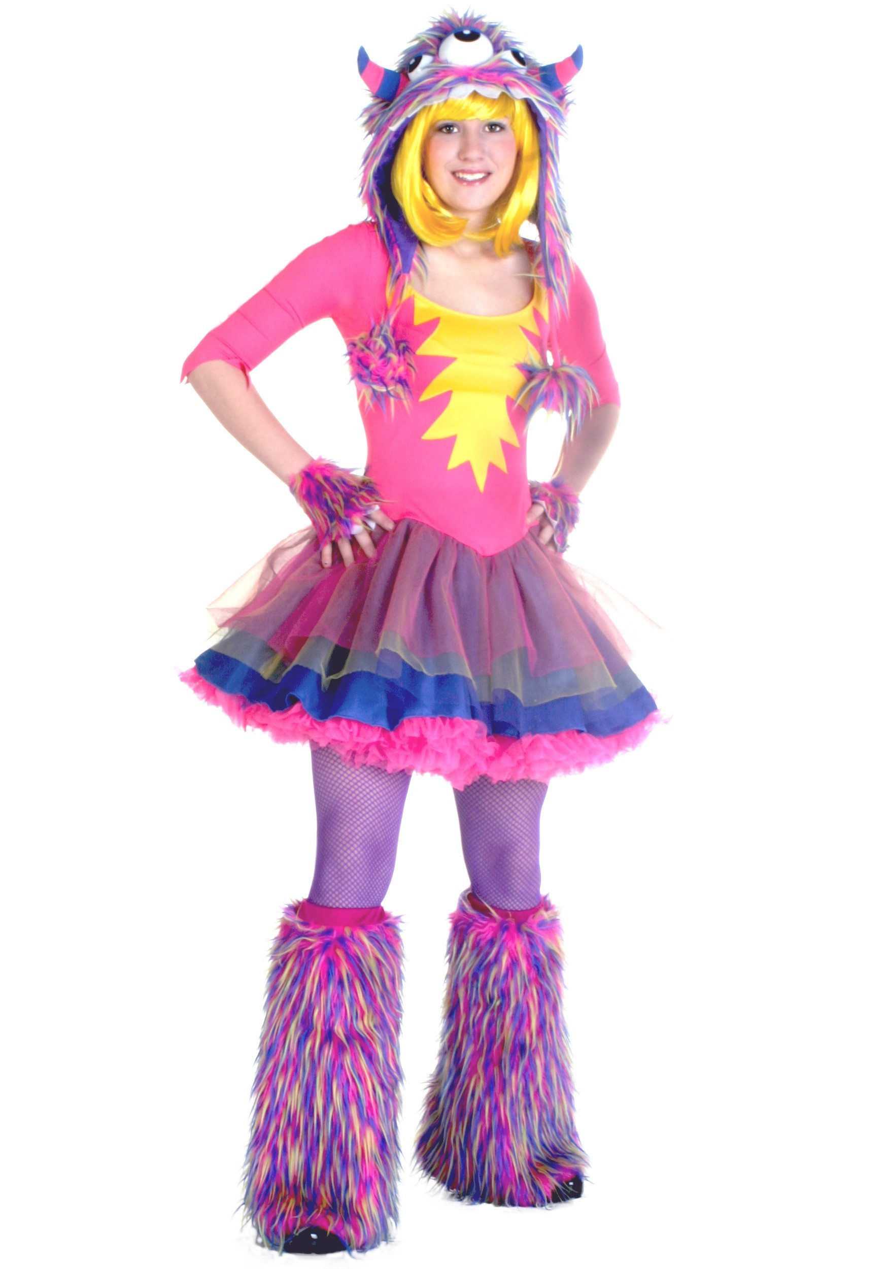 Cute DIY Costumes  Teen Party Monster Costume
