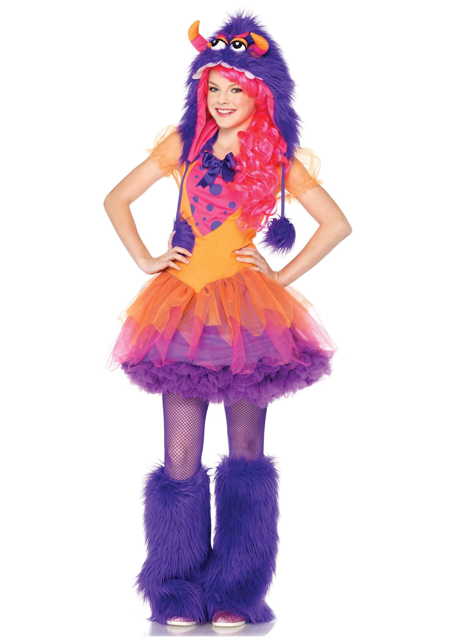 Cute DIY Costumes  Teen Furrocious Frankie Monster Costume