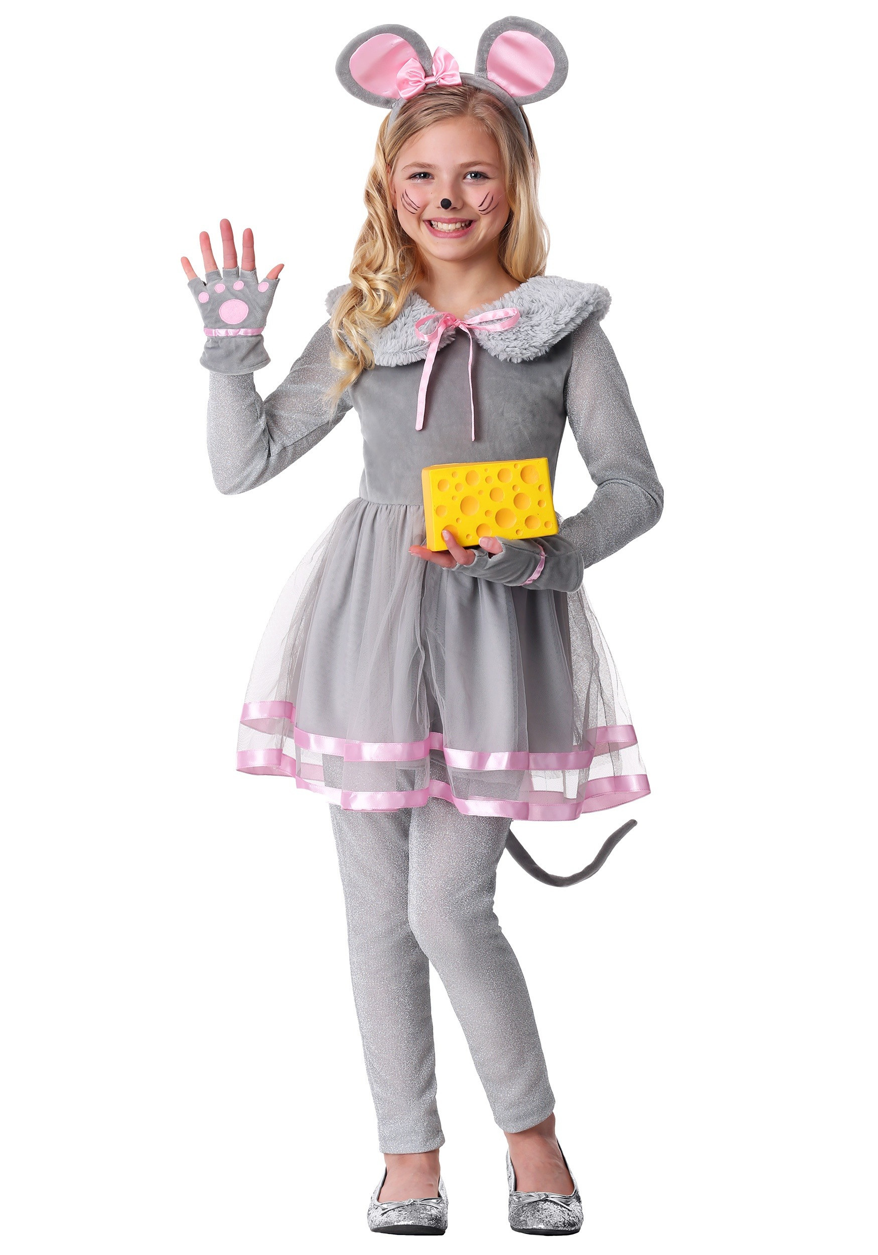Cute DIY Costumes  Girl s Cute Mouse Costume