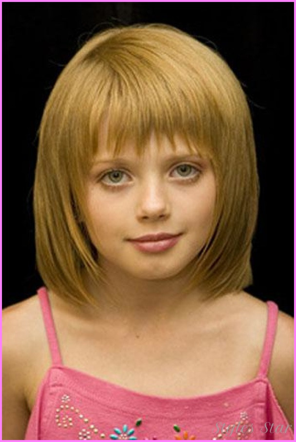 Cute Short Little Girl Haircuts  Little girls short haircuts with bangs Star Styles