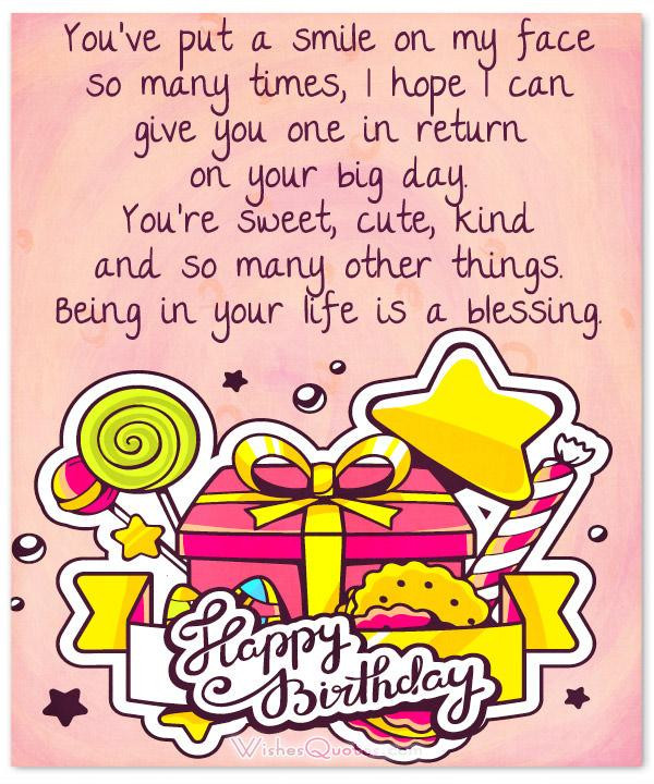 Cutest Birthday Wishes  35 Cute Birthday Wishes and Adorable Birthday