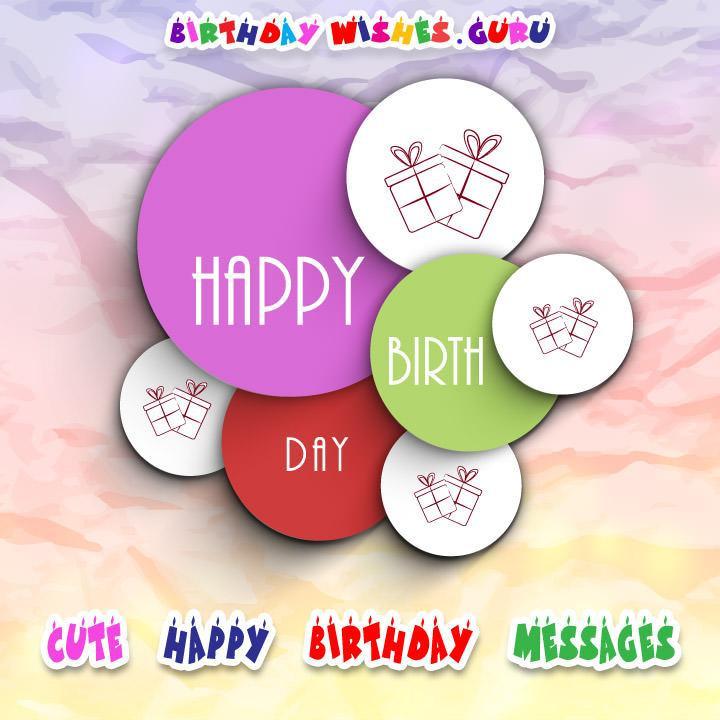 Cutest Birthday Wishes  Cute Happy Birthday Messages By Birthday Wishes Guru
