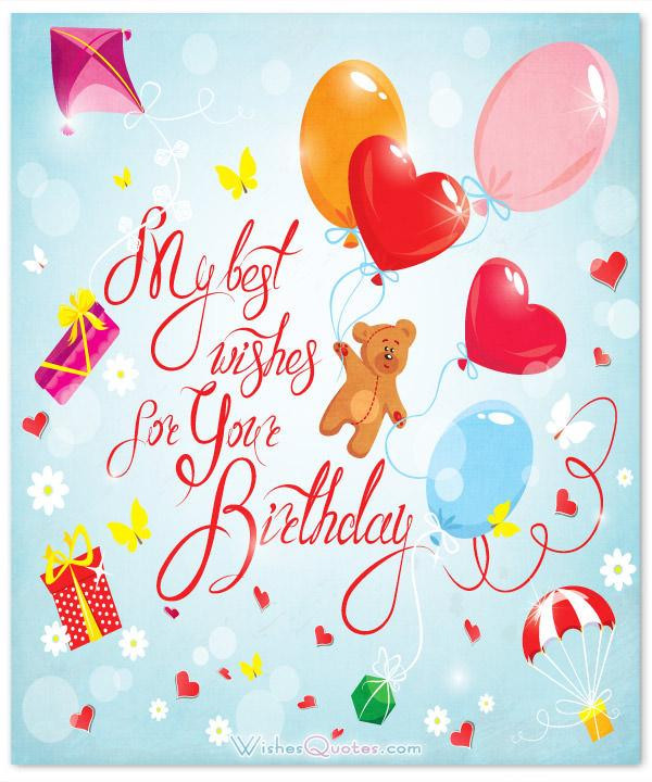 Cutest Birthday Wishes  100 Sweet Birthday Messages Birthday Cards and Gift Ideas