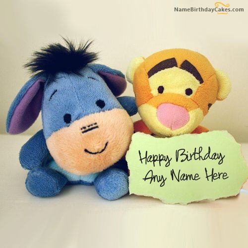 Cutest Birthday Wishes  Write name on Lovely Cute Birthday Wish Happy Birthday