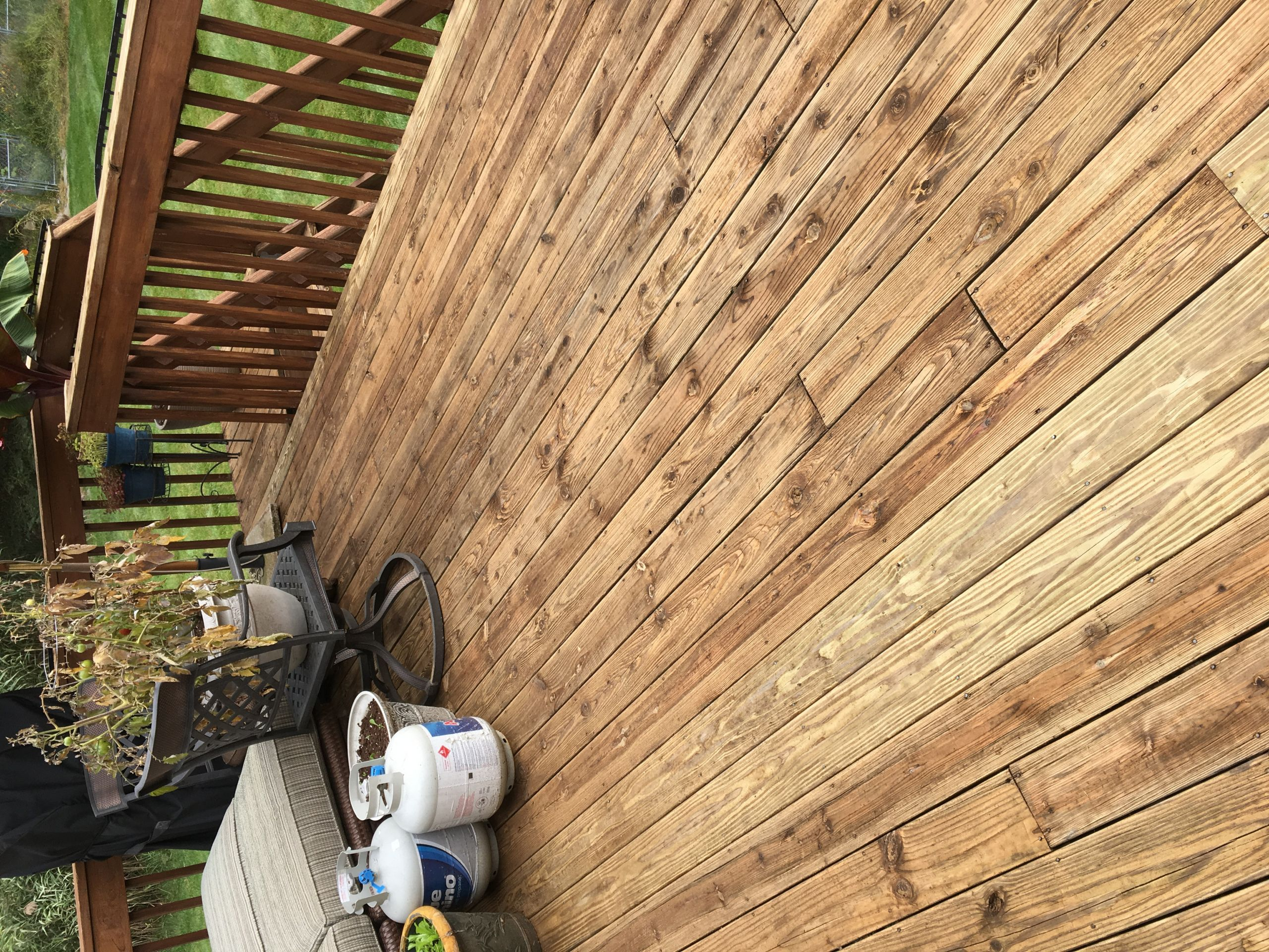 Deck Paint Stains  Best Stain for an Old Deck