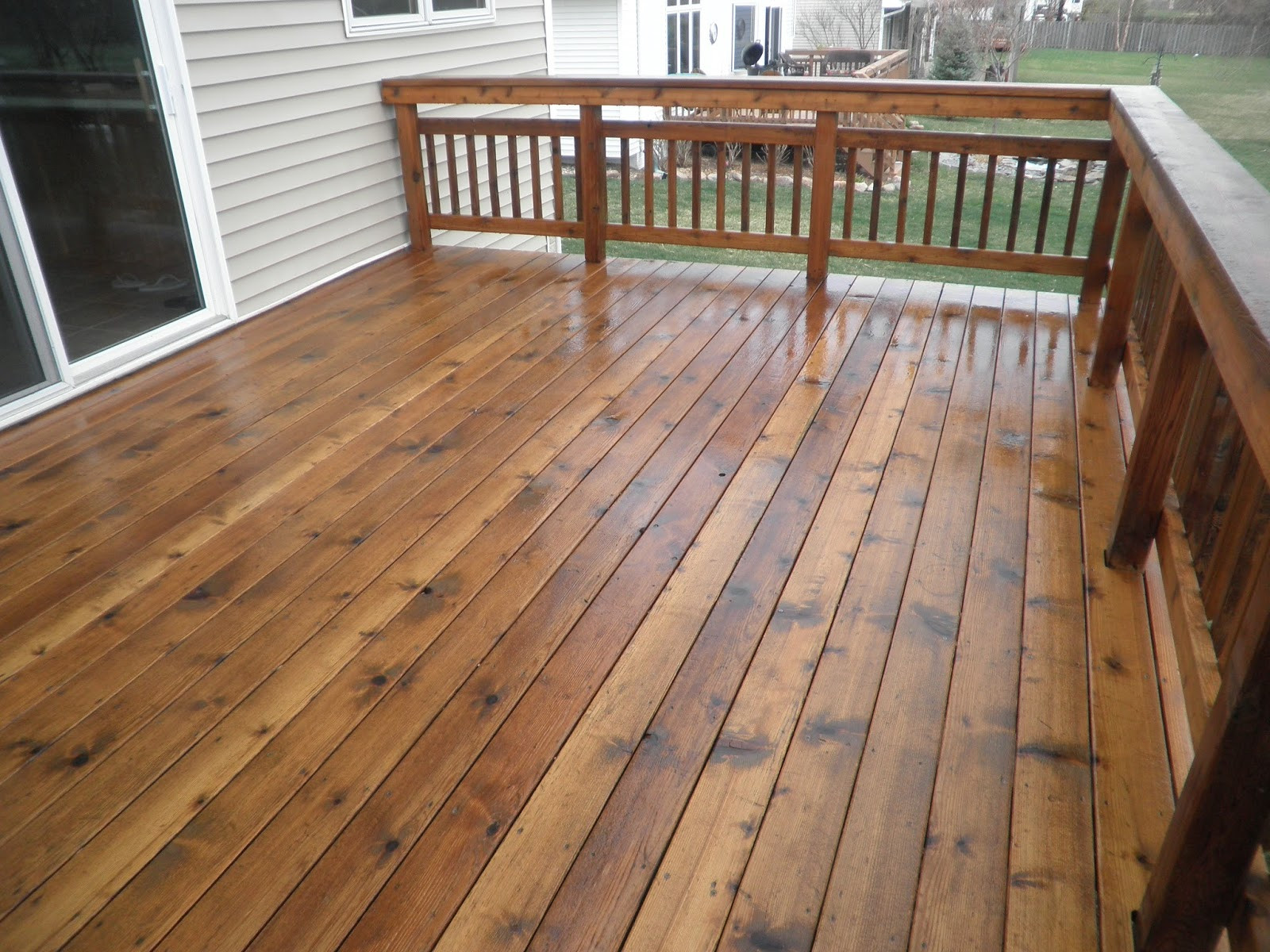 Deck Staining Painting  Maze Lumber Decking 101 Stain vs Paint vs Seal