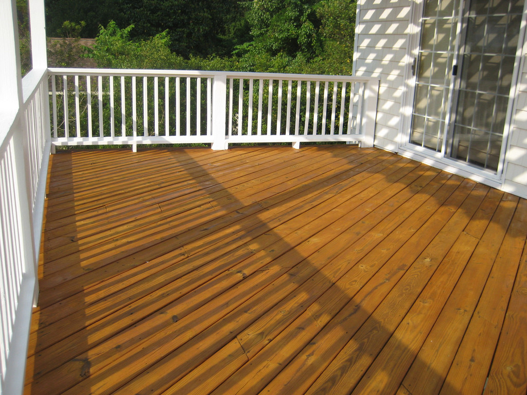 Deck Staining Painting  Deck Staining and Painting in Time for Summer