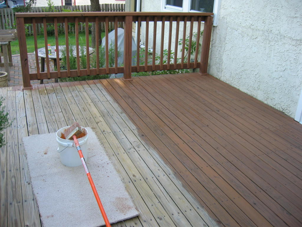 Deck Staining Painting  Deck Finishes