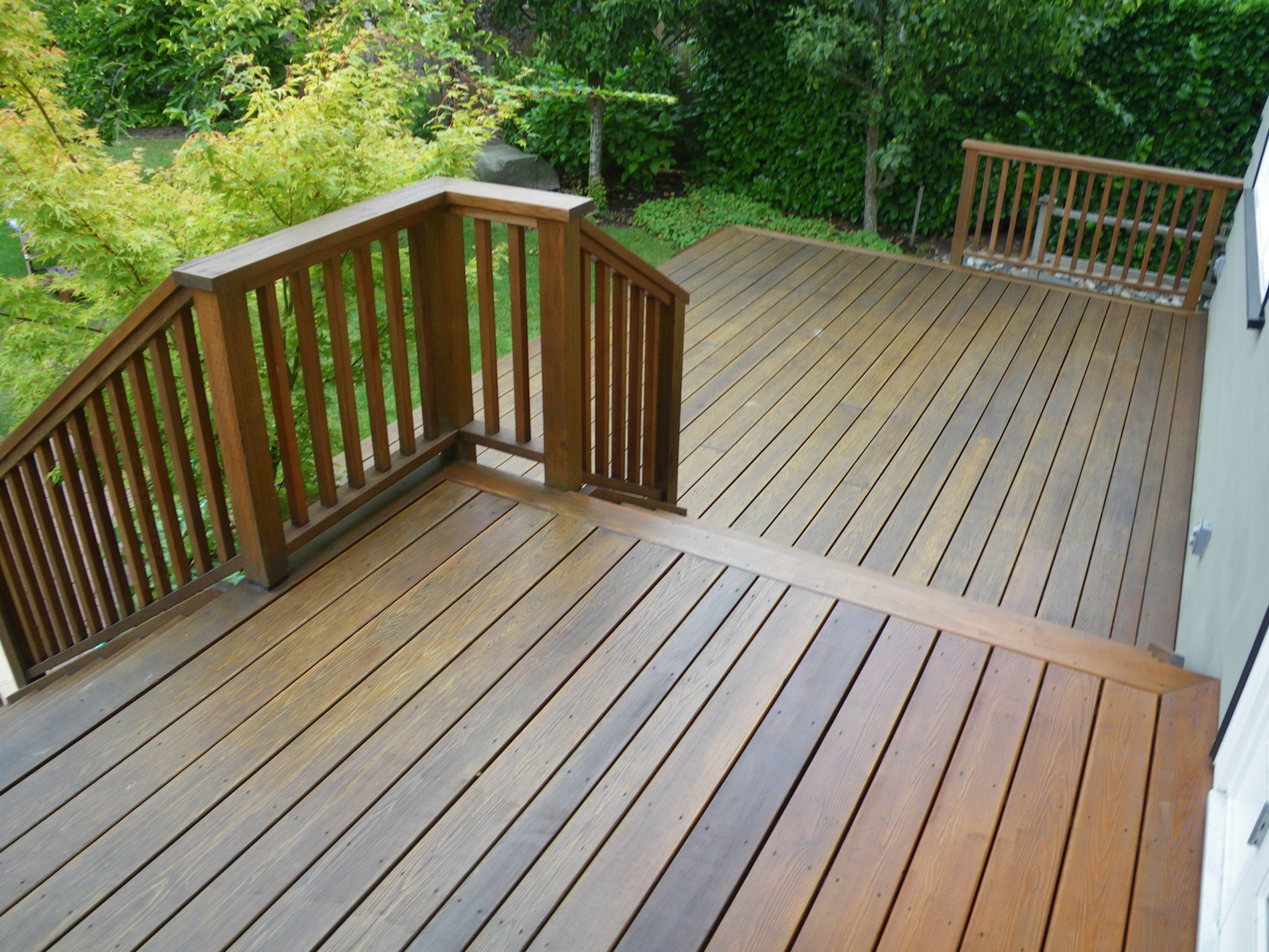 Deck Staining Painting  Deck Refinishing Vancouver Deck Staining