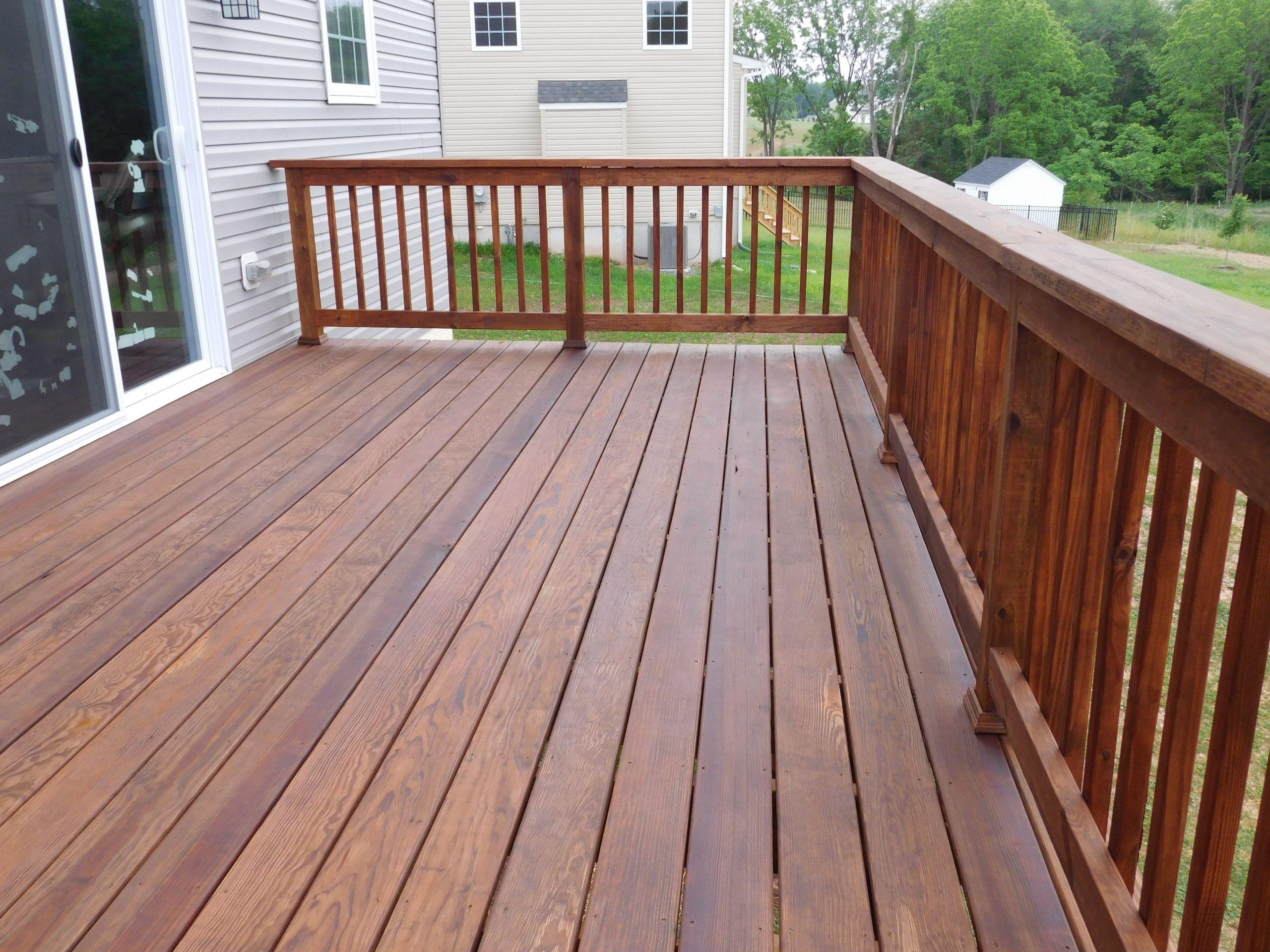 Deck Staining Painting  Douglas Fir Decking Oil • Decks Ideas