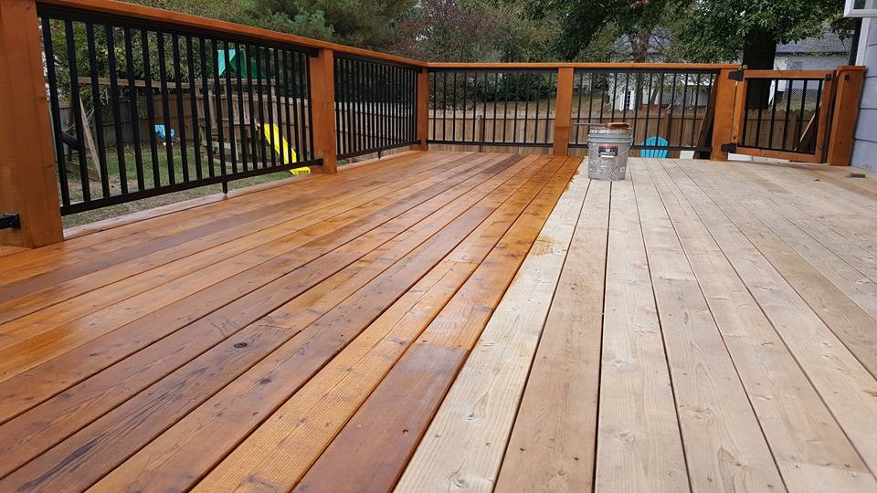 Deck Staining Painting  Three Valuable Benefits of Wood Deck Restoration SNL