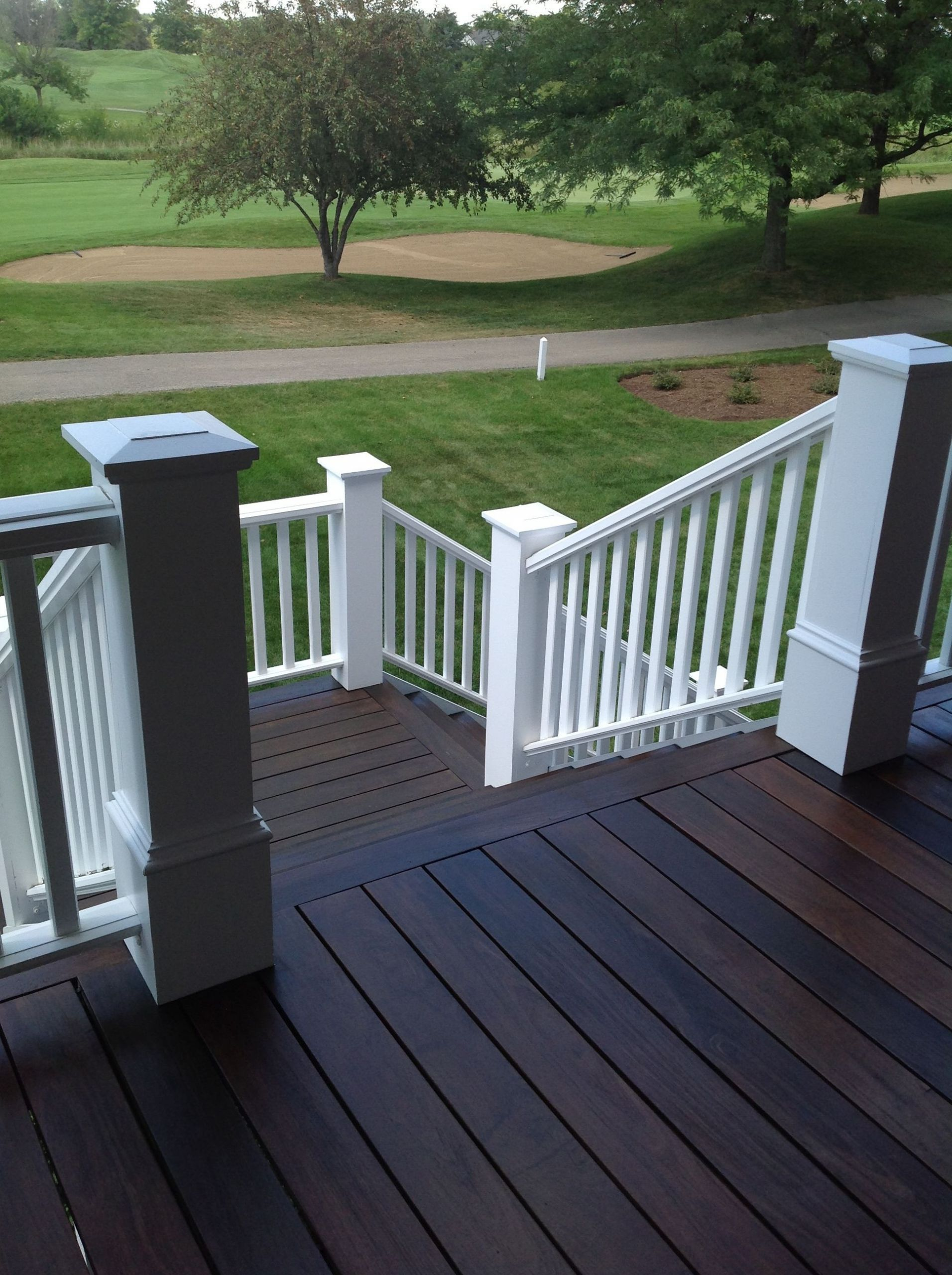 Deck Staining Painting  Black Decking Paint • Bulbs Ideas