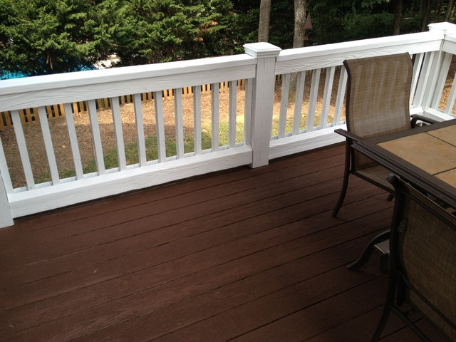 Deck Staining Painting  Exterior painting and Staining Traditional Deck