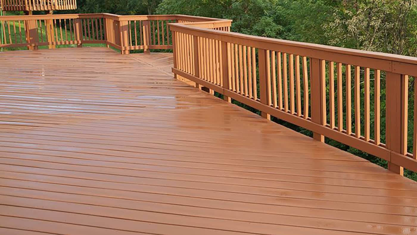 Deck Staining Painting  Grand Rapids Deck Staining