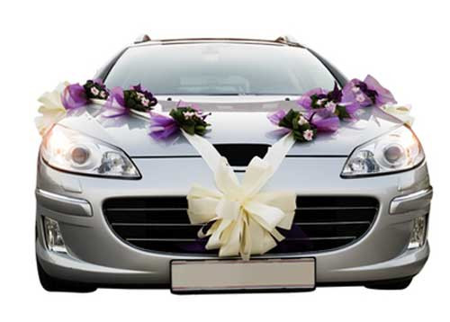 Decorate Wedding Car  Wedding Car Decorations and Accessories