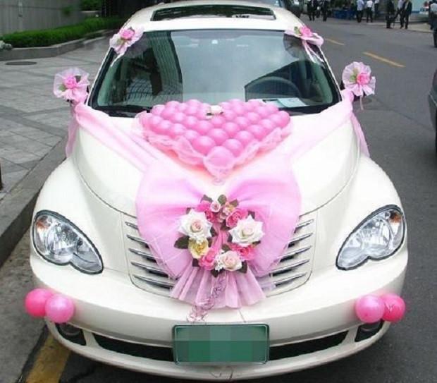 Decorate Wedding Car  Attention Grabbing Wedding Car Decoration Ideas