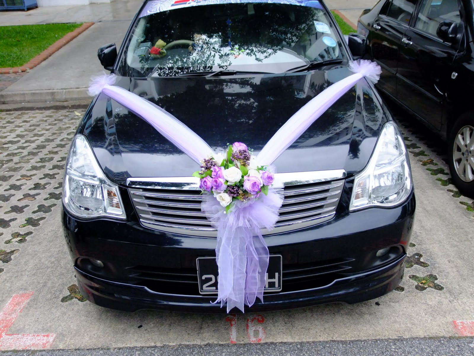 Decorate Wedding Car  Wedding Cars Decoration