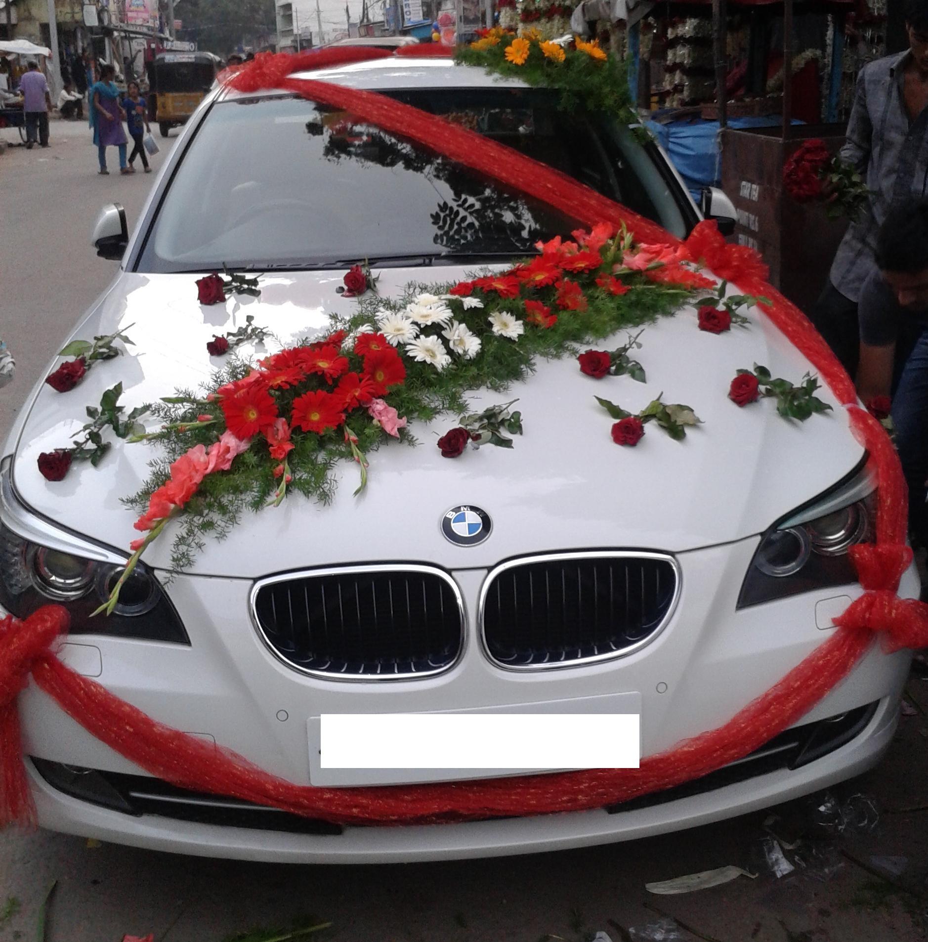 Decorate Wedding Car  Car Decoration for Wedding in Some Ways