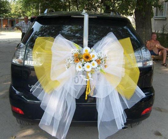 Decorate Wedding Car  Wedding Car Decoration