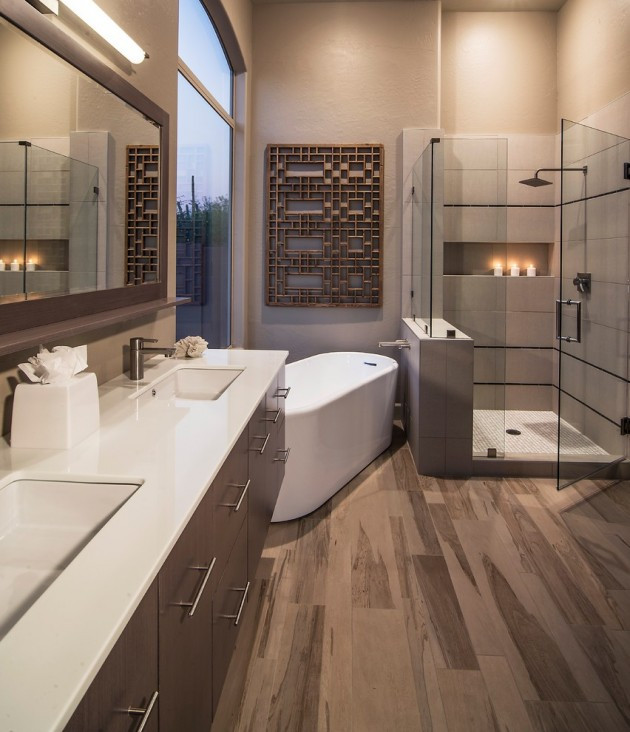 Design A Bathroom  25 Terrific Transitional Bathroom Designs That Can Fit In