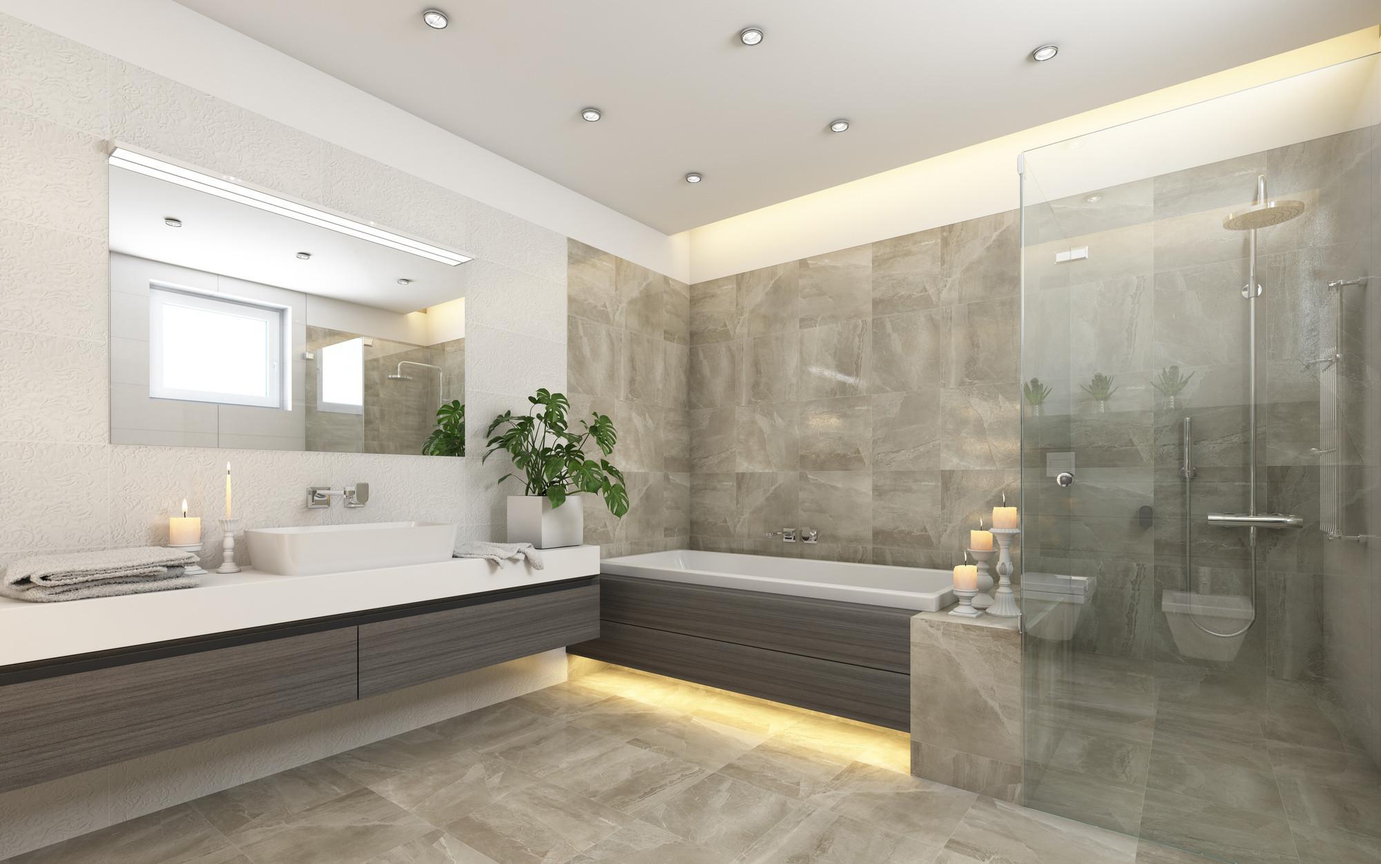 Design A Bathroom  10 mon Features of Luxury Bathroom Designs