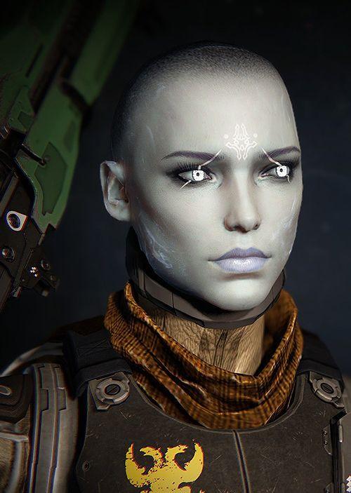 Destiny 2 Female Hairstyles  destiny awoken female