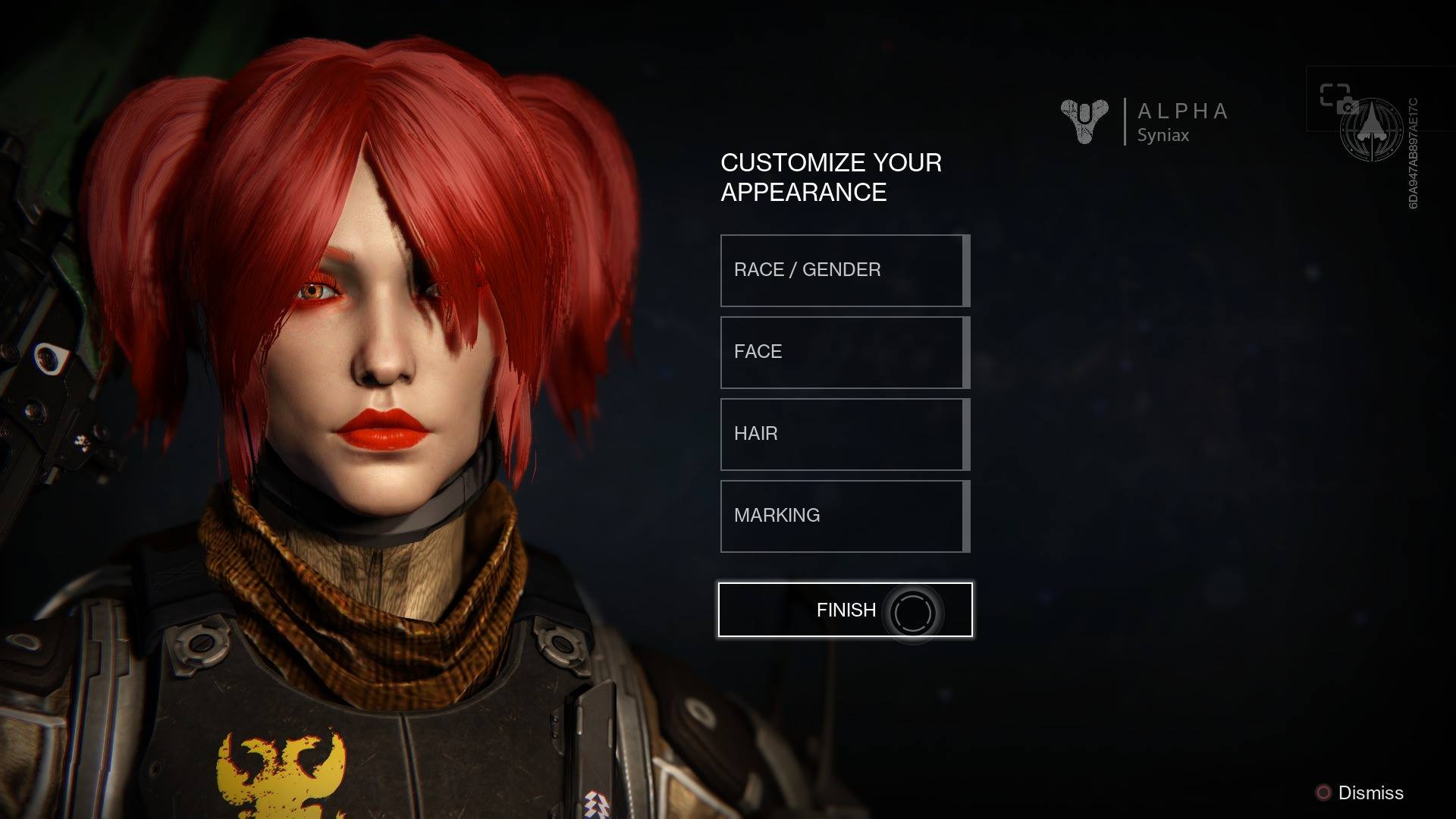 Destiny 2 Female Hairstyles  Destiny First Impression Alpha Test