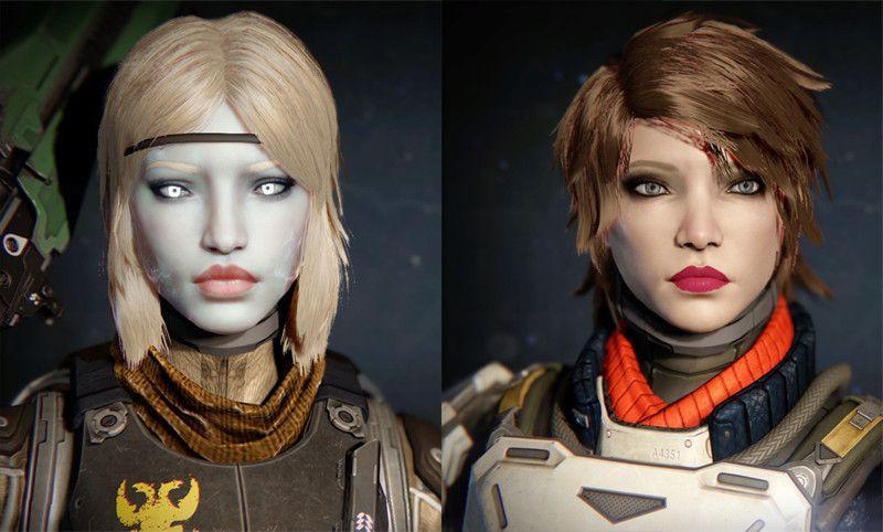 Destiny 2 Female Hairstyles  destiny human female hairstyles Google Search