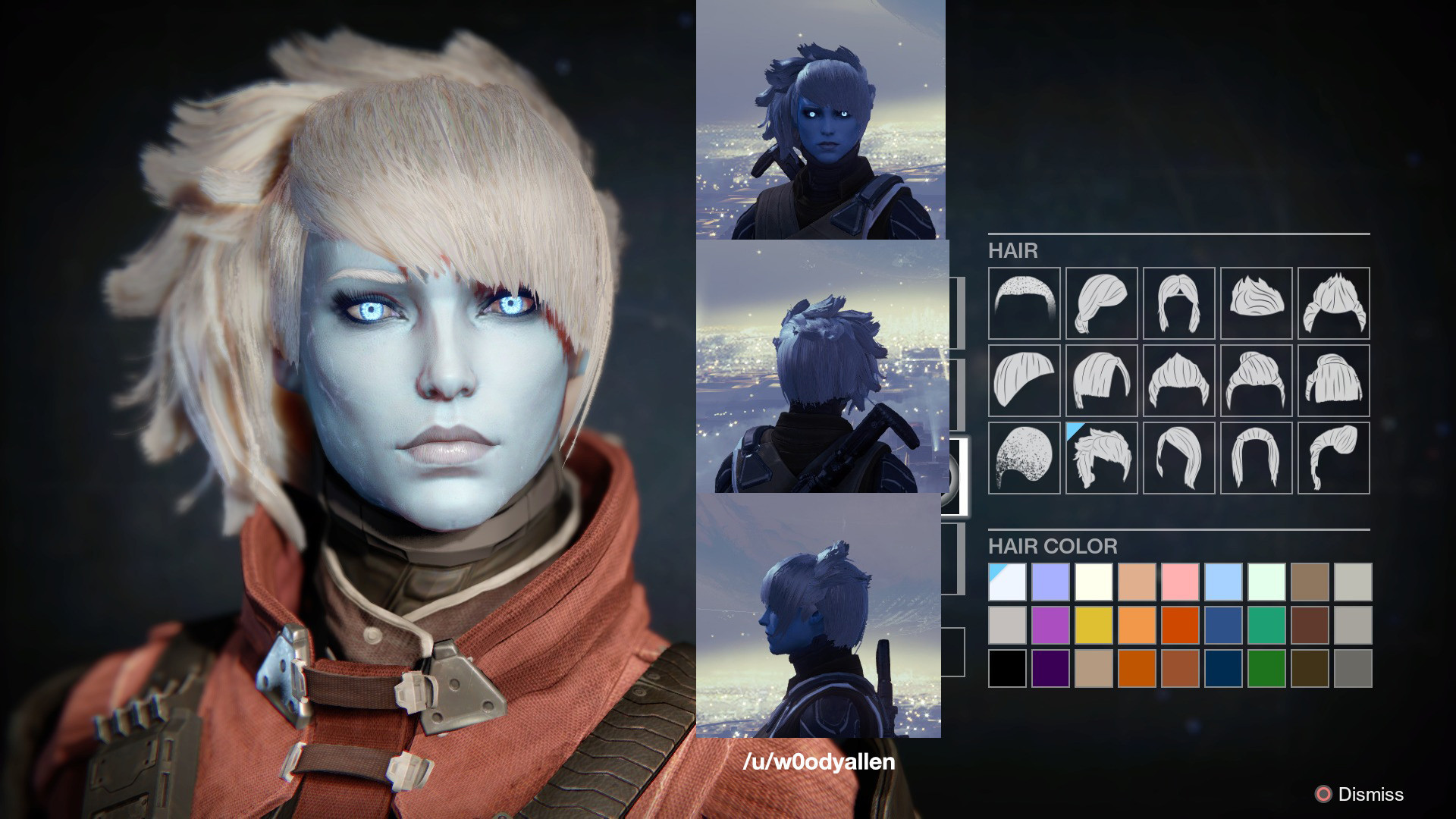 Destiny 2 Female Hairstyles  Destiny Awoken Female Hairstyles what your hair looks