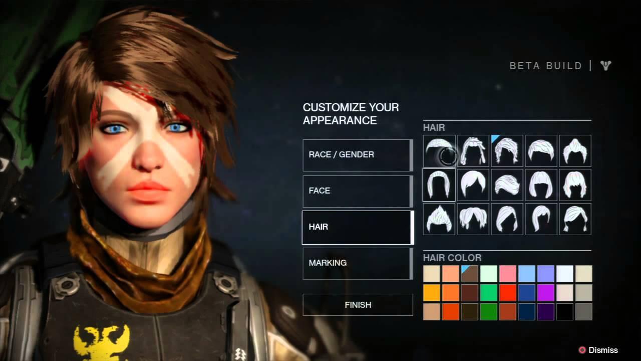 Destiny 2 Female Hairstyles  Destiny
