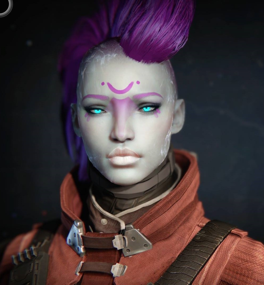 Destiny 2 Female Hairstyles  Alienphro Skin